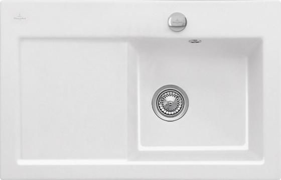 Мойка Villeroy & Boch Subway 45 780 x 510 mm R1 White Alpin CeramicPlus 677202R1