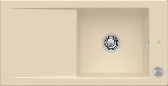 Мойка Villeroy & Boch Timeline 60 1000 x 510 mm i5 Sand Ceramicplus 679002i5