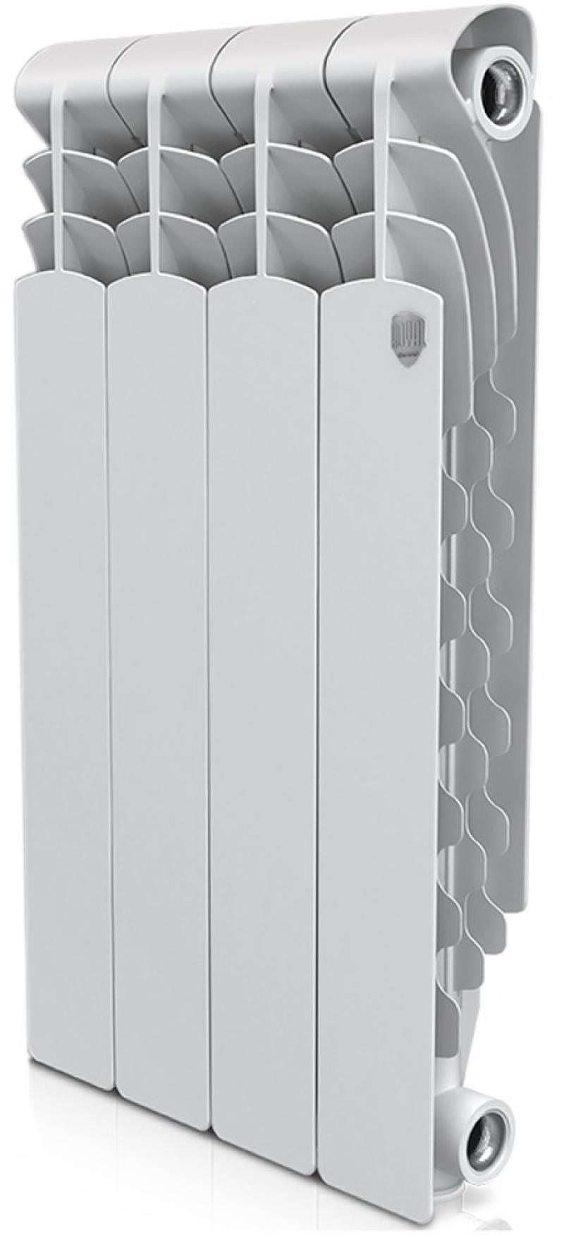 Радиатор Royal Thermo Revolution 500 4 секции алюминиевый радиатор royal thermo revolution 500 4 секции