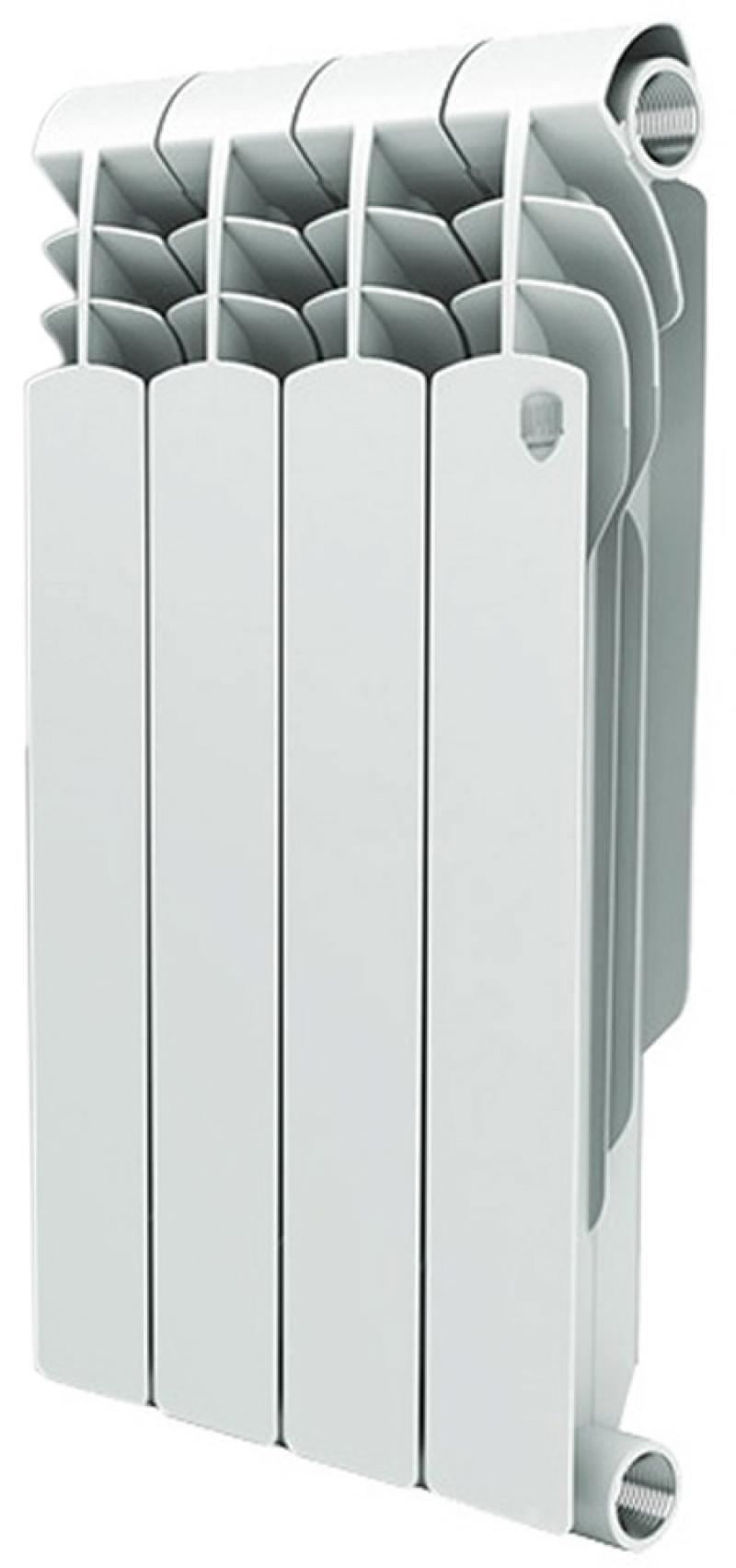Радиатор Royal Thermo Vittoria 500 4 секции радиатор отопления royal thermo алюминиевый dreamliner 500 10 секции