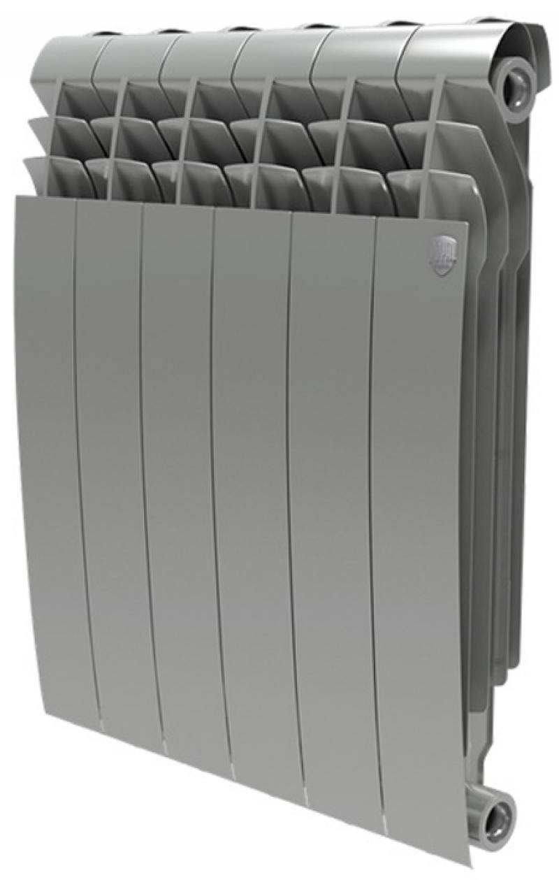 Радиатор Royal Thermo BiLiner 500 Silver Satin 8 секций
