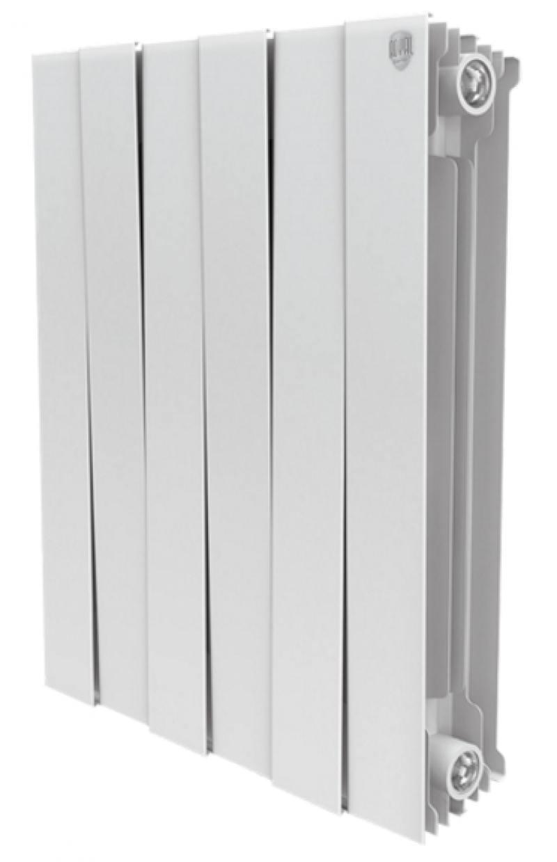 Радиатор Royal Thermo PianoForte 500/Bianco Traffico 6 секций радиатор royal thermo pianoforte 500 bianco traffico 10 секций