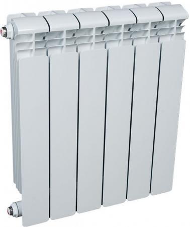 Алюминиевый радиатор Rifar (Рифар) Alum 500 6 сек. (Кол-во секций: 6; Мощность, Вт: 1098) алюминиевый радиатор rifar alum ventil avr 500 14