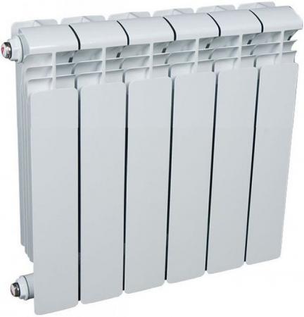 Алюминиевый радиатор Rifar (Рифар) Alum 350 6 сек. (Кол-во секций: 6; Мощность, Вт: 834) алюминиевый радиатор rifar alum 500 6 сек