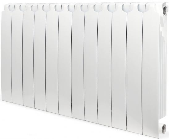 Биметаллический радиатор  Sira RS 500 х 12 сек. (Кол-во секций: 12; Мощность, Вт: 2412) биметаллический радиатор sira ali metal 500 12 сек