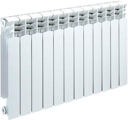 Биметаллический радиатор Sira Alice 500 12 сек (Кол-во секций: 12; Мощность, Вт: 2280) биметаллический радиатор sira ali metal 500 12 сек