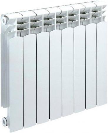 Биметаллический радиатор Sira Alice 500  8 сек (Кол-во секций: 8; Мощность, Вт: 1520) биметаллический радиатор sira ali metal 500 12 сек