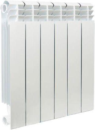 Биметаллический радиатор Sira Alice 500  6 сек (Кол-во секций: 6; Мощность, Вт: 1140) биметаллический радиатор sira ali metal 500 12 сек