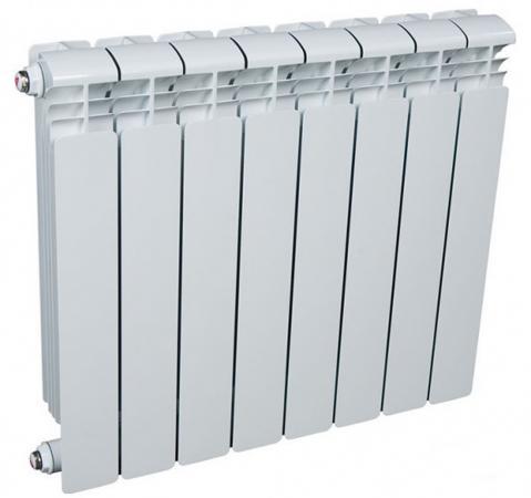 Радиатор алюминиевый Rifar Alum 500 500/90 8 секций 1464Вт цена
