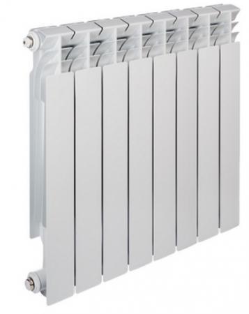 Радиатор алюминиевый TENRAD 500/80 8-секций
