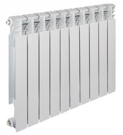 Радиатор алюминиевый TENRAD 500/80 10-секций радиатор tenrad 500 100 12 секций