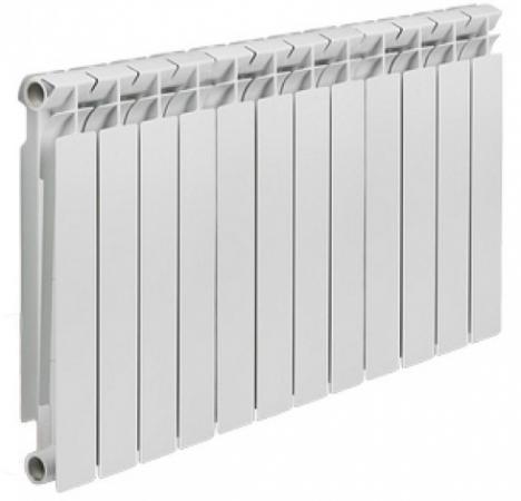 Радиатор алюминиевый TENRAD 500/80 12-секций радиатор tenrad 500 100 12 секций