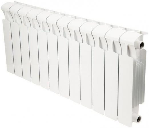 Биметаллический радиатор RIFAR (Рифар) Monolit 350 12 сек. (Мощность, Вт: 1608; Кол-во секций: 12) биметаллический радиатор rifar monolit 350 сек 12