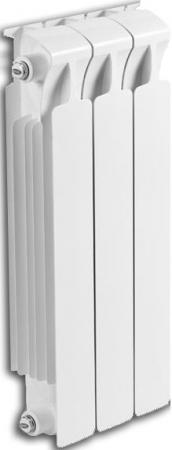 Биметаллический радиатор RIFAR (Рифар) Monolit 350 3 сек. (Мощность, Вт: 402; Кол-во секций: 3) биметаллический радиатор rifar monolit 350 сек 12