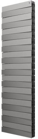 Радиатор Royal Thermo PianoForte Tower/Silver Satin 22 секции радиатор royal thermo pianoforte tower noir sable 22 секции