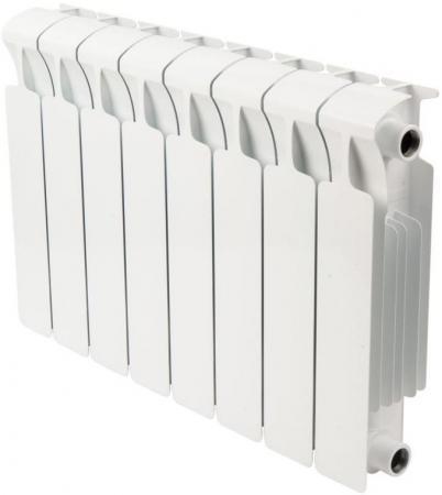 Биметаллический радиатор RIFAR (Рифар) Monolit 350 8 сек. (Мощность, Вт: 1072; Кол-во секций: 8) радиатор rifar forza 350 8 секций биметалл