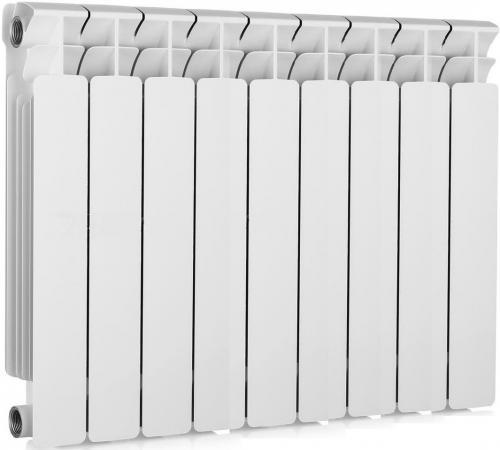 Биметаллический радиатор RIFAR (Рифар) B-500 9 сек. (Кол-во секций: 9; Мощность, Вт: 1836) биметаллический радиатор rifar рифар b 500 нп 12 сек лев кол во секций 12 мощность вт 2448 подключение левое