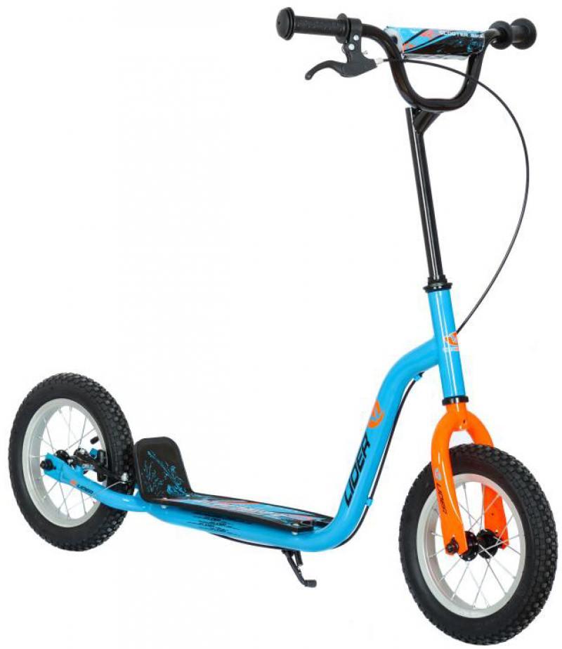 Самокат двухколёсный Velolider COOL 12 166608 12 синий велосипед velolider rush army 18 ra18 хаки