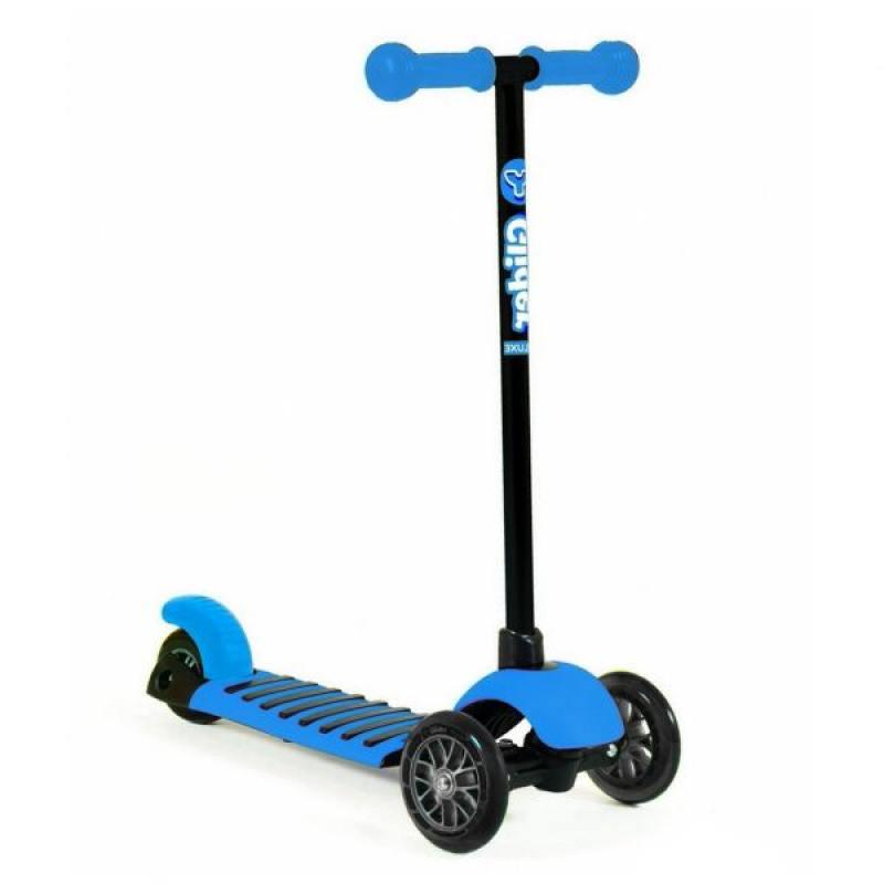 Самокат трехколёсный Y-Bike GLIDER MINI blue самокат y bike glider de luxe mini pink blue 100536