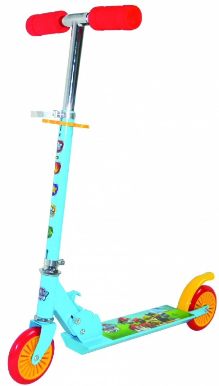 Самокат двухколёсный Navigator Щенячий патруль, алюм.комби 2,5кг PVC кол.125мм, размер 62х9,5х83см самокат 2 х колесный navigator navigator самокат детский двухколесный щенячий патруль голубой