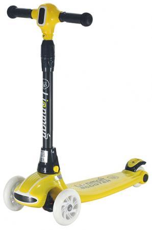 Самокат LIONMEN Сlassic XLM-L-005 yellow malciklo yellow l