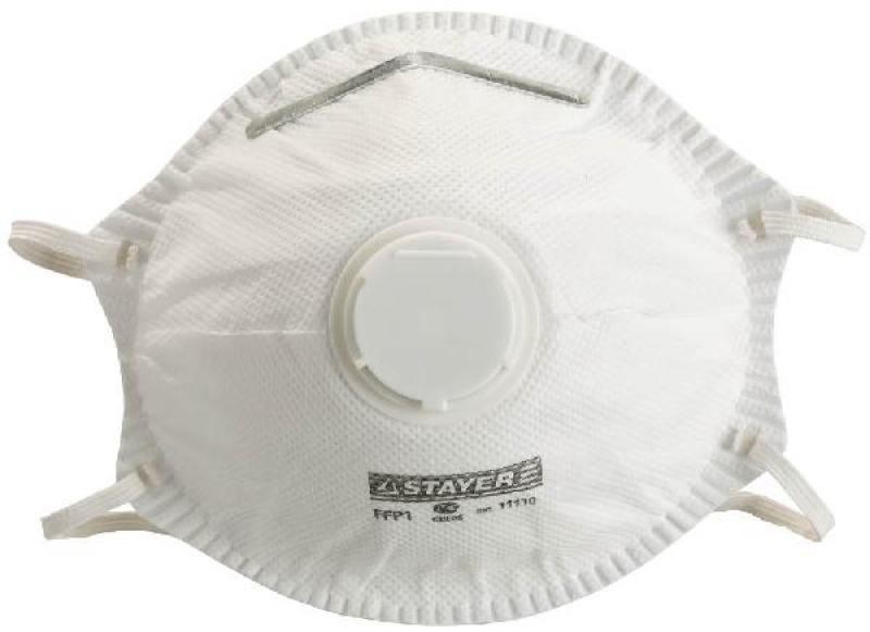 Полумаска фильтрующая STAYER STANDART 10шт 1110-H10
