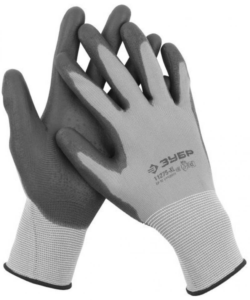 Перчатки Зубр Мастер для точных работ с полиуретановым покрытием M 11275-M перчатки хозяйственные airline нейлоновые с полиуретановым покрытием
