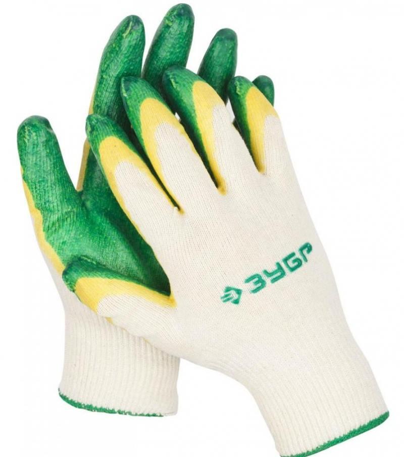 Перчатки Зубр МАСТЕР трикотажные 10 класс L-XL 11459-XL