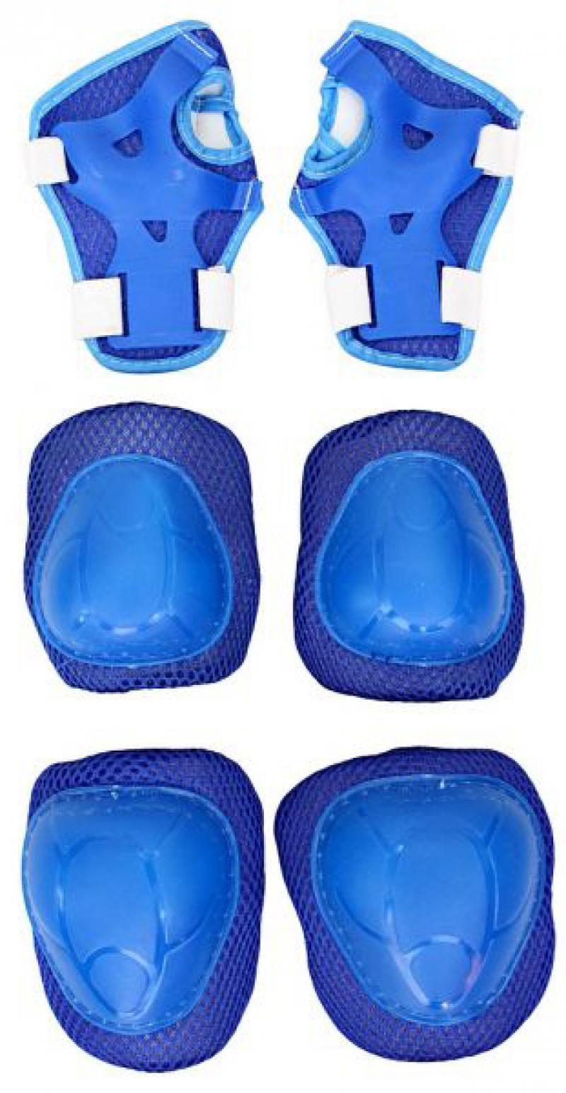 Комплект защиты Rich Toys YWHJ-022 144405 M синий комплект защиты tech team roller star m black