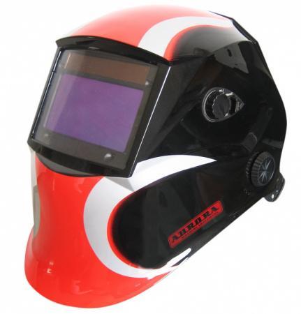 Маска сварочная Хамелеон AURORA SUN7 черно-красная маска сварочная aurora sun7 tig master 2 levels