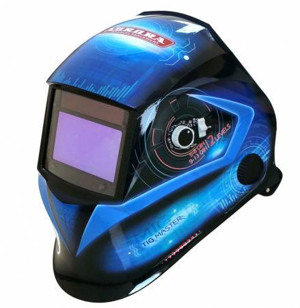 Маска AURORA SUN-7 Tig Master светофильтр 99x55мм 4оптических датчика маска сварочная aurora sun7 tig master 2 levels