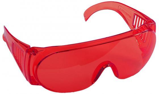 Купить Очки Stayer 11045 Standard Защитные Поликарбонатная Монолинза С Боковой Вентиляцией Красные