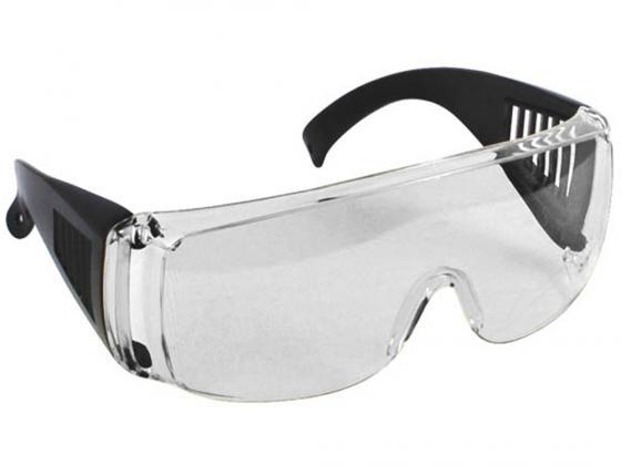 Защитные очки Fit 12219 с дужками прозрачные аксессуар очки защитные fit 12219