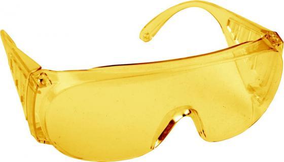 Очки DEXX 11051 защитные поликарбонатная монолинза с боковой вентиляцией желтые термос dexx 48000