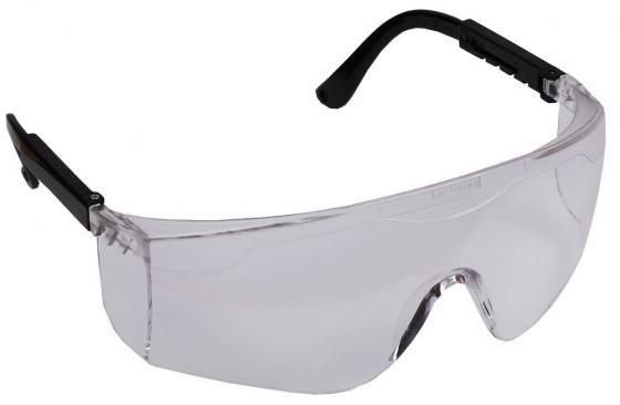 Очки STAYER 2-110461 защитные с регулируемыми по длине дужками поликарбонатные прозрачные линзы очки защитные поликарбонатные qx2000 04 1022 0140n