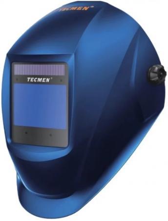 Маска сварщика Tecmen ADF-815S 5-13 TM16 Синяя маска сварщика redbo rb 9000 5