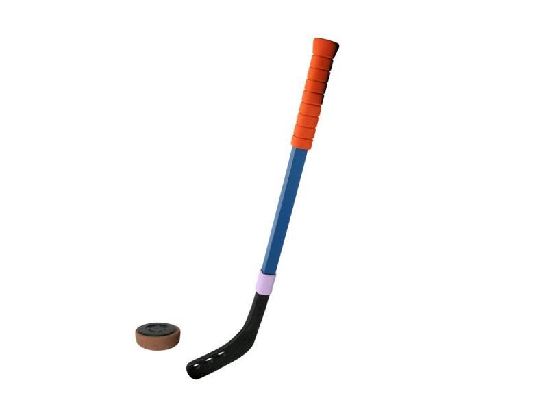 Игрушка клюшка хоккейная 70см+шайба 00127 цены онлайн