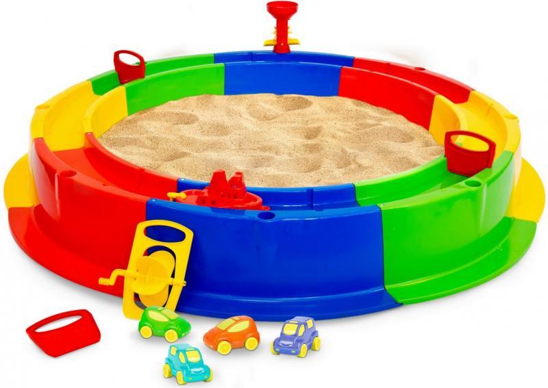 Песочница Wader Кольцо с водой 40923 игра с водой wader поймай уточку для 4 игроков 40558