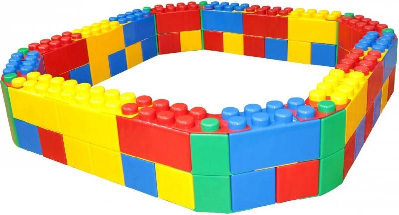 Песочница Wader Лего 41432