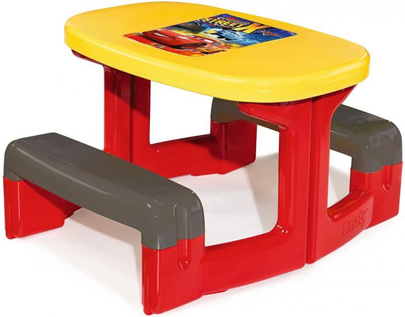 Столик для пикника Smoby Cars, 1/1  310292 пластиковая мебель smoby столик для пикника cars