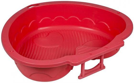 Песочница-бассейн - Сердечко (красный)