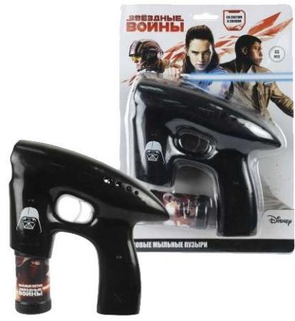 1toy Звёздные войны, мыл. пистолет, светится в темноте, звук, бут. 45 мл, блистер