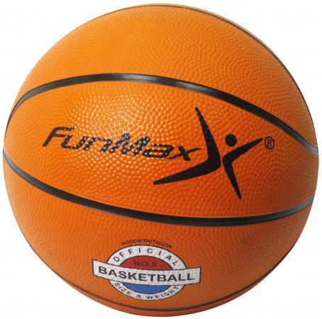 FunMax мяч баскетбольный, 22см, 400гр
