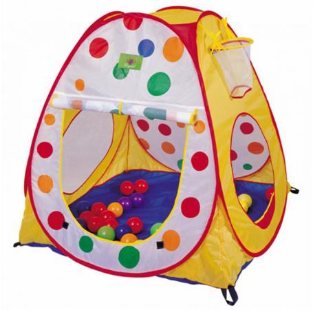 Палатка 1 Toy детская игровая Красотка, в сумке Т59903 1toy детская игровая палатка красотка цвет желтый голубой