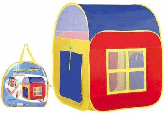 Палатка 1 Toy детская игровая в сумке 86х86х105 см Т59899 1toy детская игровая палатка красотка цвет желтый голубой