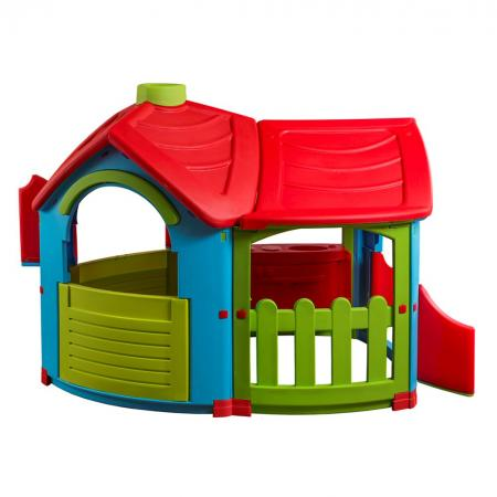 Игровой домик PalPlay Вилла с пристройкой 662