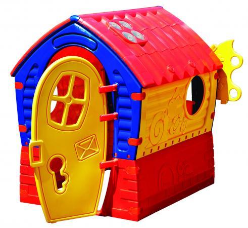 Домик - Лилипут (желтый, красный, синий)   со светом и музыкой