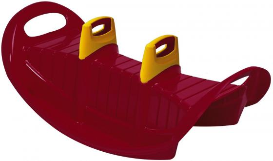 Качалка на троих (бордовый)