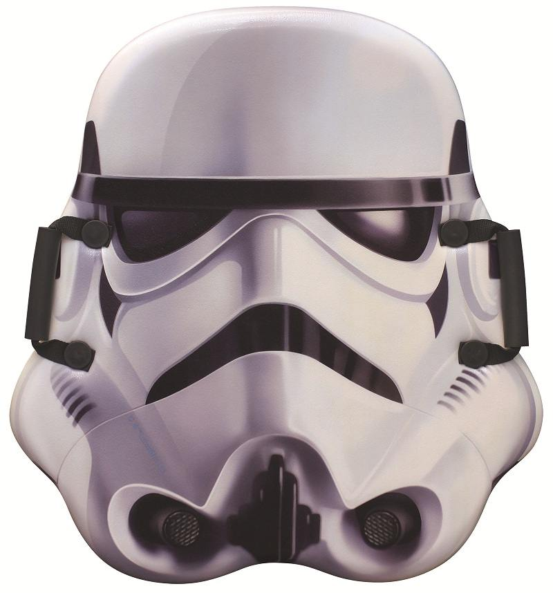 Ледянка 1Toy Storm Trooper с плотными ручками до 100 кг пластик ПВХ рисунок Т58172 ледянка disney фея до 60 кг пвх ткань рисунок т58165