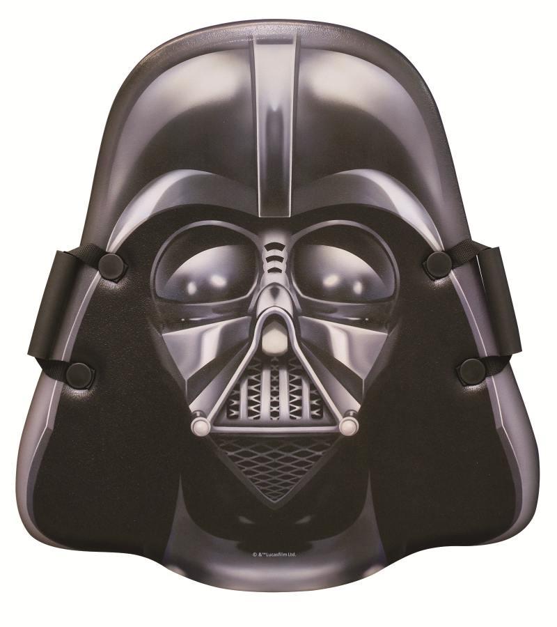 Ледянка 1Toy Star Wars Darth Vader с плотными ручками до 100 кг Пластик ПВХ черный Т58179 ледянка 1toy star wars darth vader с плотными ручками т58179